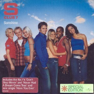 S Club 7, Never Had A Dream Come True, Piano, Vocal & Guitar