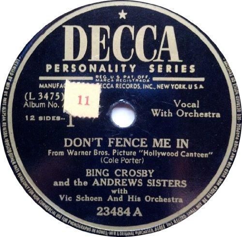 Bing Crosby, Pennies From Heaven, Piano