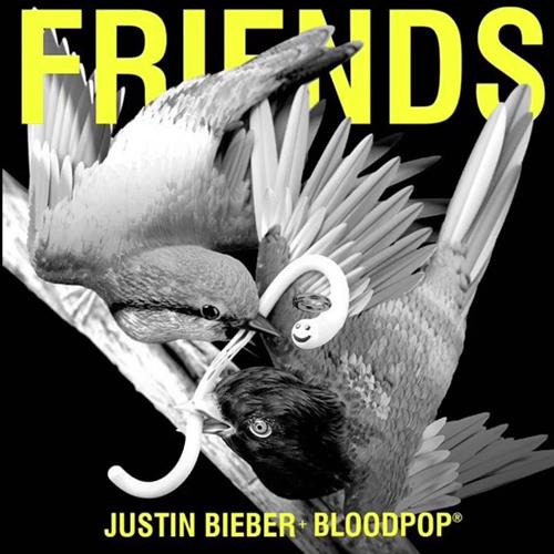Justin Bieber, Friends (feat. BloodPop), Piano, Vocal & Guitar (Right-Hand Melody)