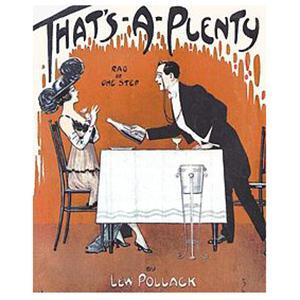 Roy Gilbert, That's A Plenty, Piano