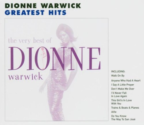 Dionne Warwick, I'll Never Love This Way Again, Piano, Vocal & Guitar (Right-Hand Melody)