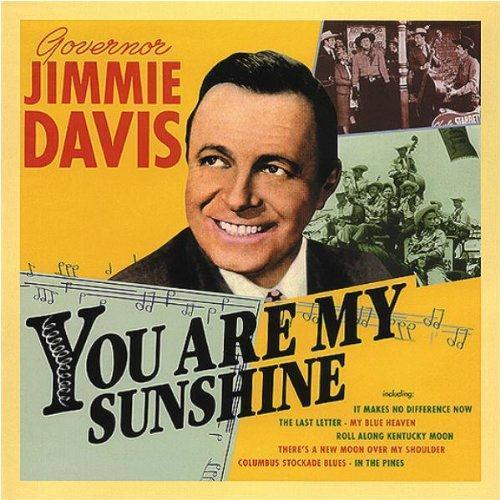 Jimmie Davis, You Are My Sunshine, Piano, Vocal & Guitar (Right-Hand Melody)