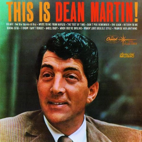 Dean Martin, Return To Me, Piano, Vocal & Guitar (Right-Hand Melody)