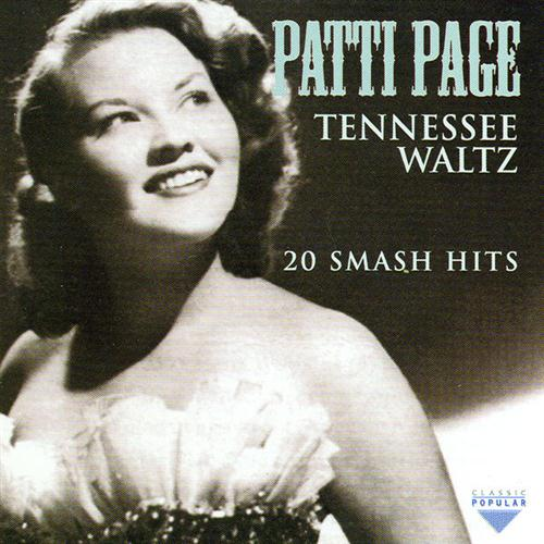 Patti Page, Tennessee Waltz, Easy Guitar