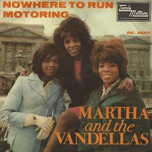 Martha & The Vandellas, Nowhere To Run (from Good Morning Vietnam), Piano, Vocal & Guitar (Right-Hand Melody)