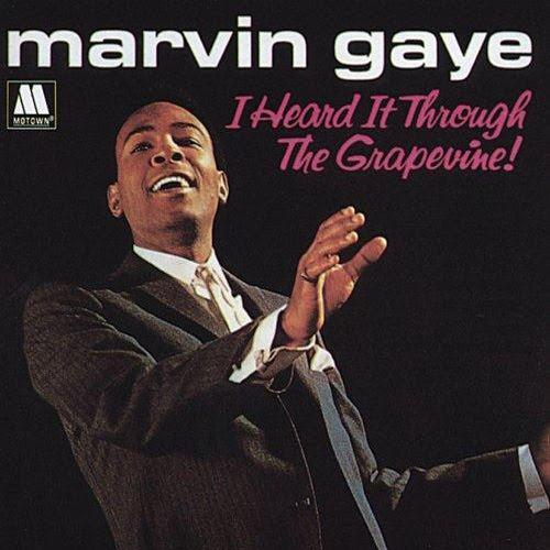 Marvin Gaye, I Heard It Through The Grapevine, Piano, Vocal & Guitar (Right-Hand Melody)