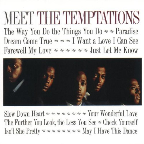 The Temptations, The Way You Do The Things You Do, Piano, Vocal & Guitar (Right-Hand Melody)