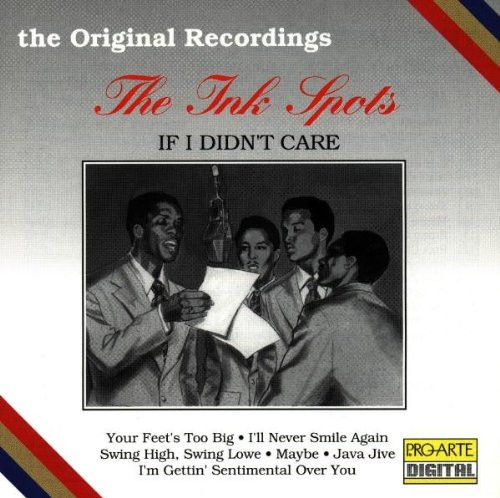 The Ink Spots, Java Jive, Piano, Vocal & Guitar (Right-Hand Melody)