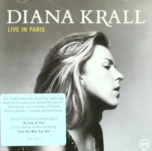 Diana Krall, Just The Way You Are, Piano, Vocal & Guitar