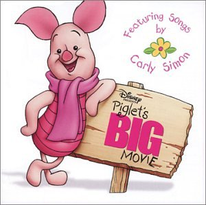 Carly Simon, If I Wasn't So Small (The Piglet Song) (from Piglet's Big Movie), Piano, Vocal & Guitar (Right-Hand Melody)