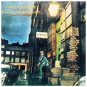David Bowie, Ziggy Stardust, Piano, Vocal & Guitar (Right-Hand Melody)