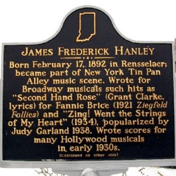 James F. Hanley, Indiana (Back Home Again In Indiana) (arr. Phillip Keveren), Piano