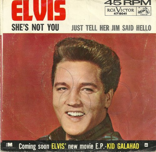 Elvis Presley, She's Not You, Easy Piano