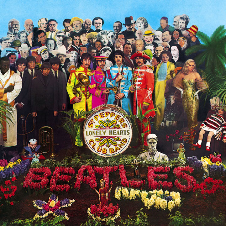 The Beatles, With A Little Help From My Friends, Piano, Vocal & Guitar (Right-Hand Melody)