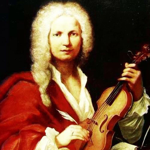 Antonio Vivaldi, Winter from The Four Seasons (Second movement: Largo), Piano