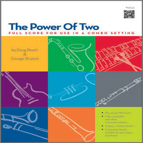 Doug Beach & George Shutack, The Power Of Two - Full Score - Full Score, Jazz Ensemble