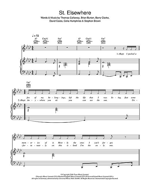 St. Elsewhere sheet music