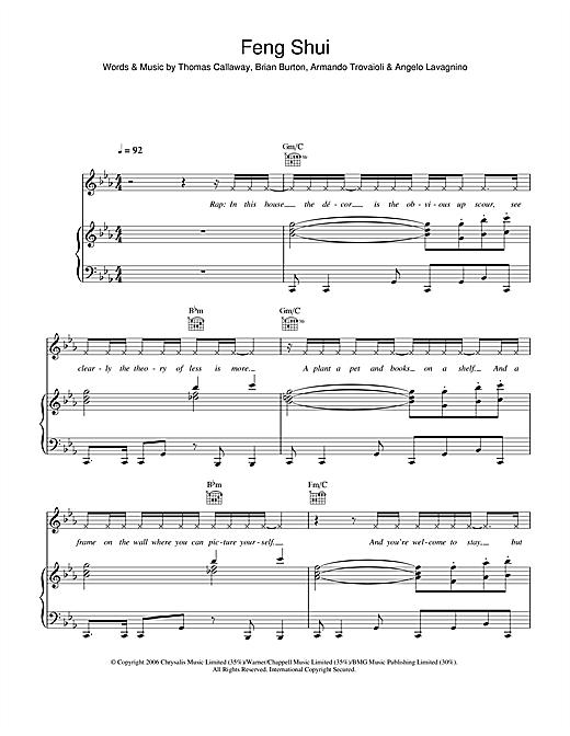 Feng Shui sheet music