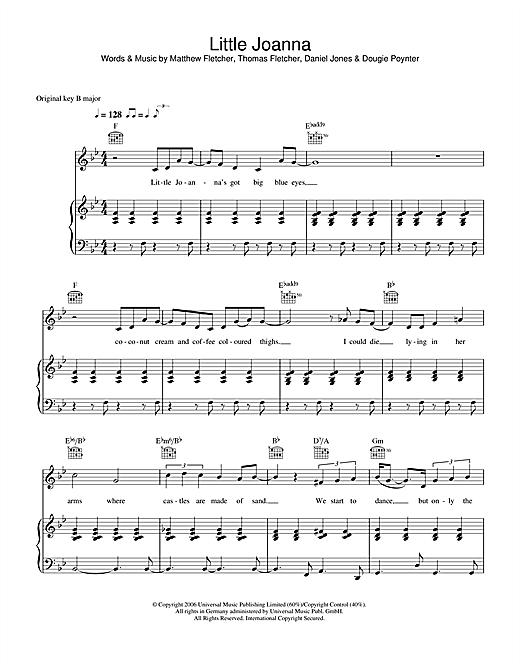 Little Joanna sheet music