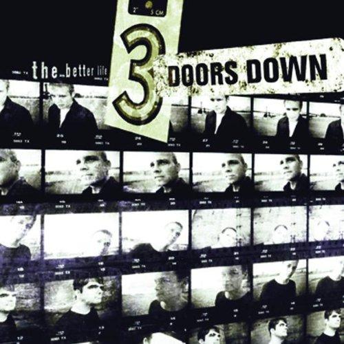 3 Doors Down, Kryptonite, Easy Guitar Tab