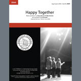 Download The Turtles 'Happy Together (arr. Liz Garnett)' printable sheet music notes, Barbershop chords, tabs PDF and learn this SSAA song in minutes