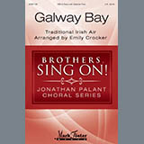 Download Emily Crocker 'Galway Bay' printable sheet music notes, Folk chords, tabs PDF and learn this TBB Choir song in minutes