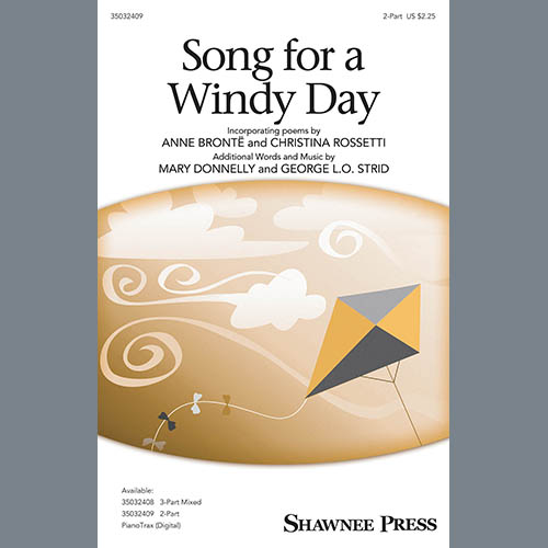Mary Donnelly & George L.O. Strid, Song For A Windy Day, 2-Part Choir