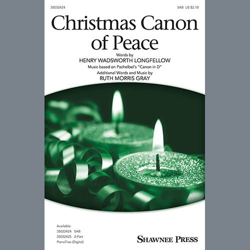 Johann Pachelbel, Christmas Cannon Of Peace, SAB Choir