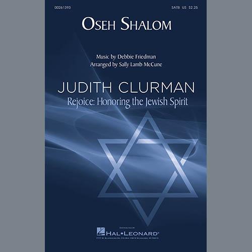 Debbie Friedman, Oseh Shalom (arr. Sally Lamb McCune), SATB Choir