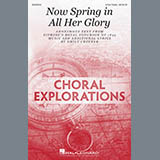 Download Emily Crocker 'Now Spring In All Her Glory' printable sheet music notes, Concert chords, tabs PDF and learn this 3-Part Treble Choir song in minutes
