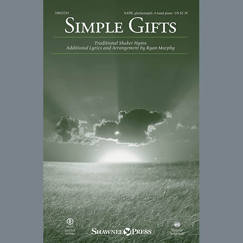 Ryan Murphy, Simple Gifts, Choir