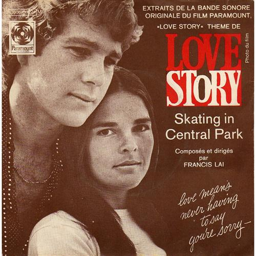 Francis Lai, Love Story, Piano