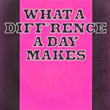 Download Stanley Adams 'What A Diff'rence A Day Made' printable sheet music notes, Jazz chords, tabs PDF and learn this Real Book - Melody & Chords - C Instruments song in minutes