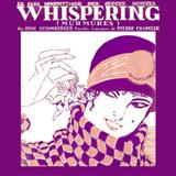 Download Richard Coburn 'Whispering' printable sheet music notes, Jazz chords, tabs PDF and learn this Real Book - Melody & Chords - Bass Clef Instruments song in minutes