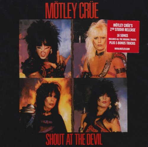 Motley Crue, Shout At The Devil, Guitar Tab