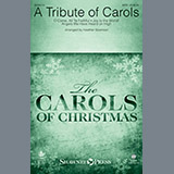 Download Heather Sorenson 'A Tribute of Carols - Percussion 1-3' printable sheet music notes, Carol chords, tabs PDF and learn this Choir Instrumental Pak song in minutes