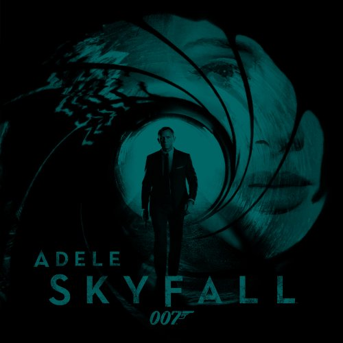 Adele, Skyfall, Piano, Vocal & Guitar (Right-Hand Melody)