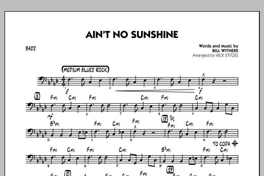 Mark Brymer Ain T No Sunshine Bass Sheet Music Download Pdf Score 290594 Am em amain't no sunshine when she's gone. mark brymer ain t no sunshine bass