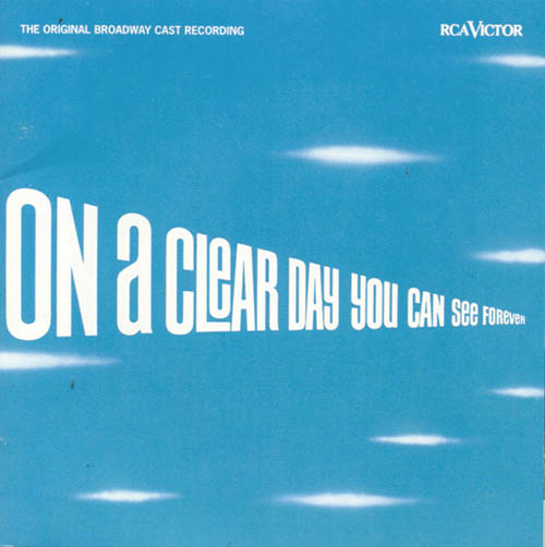 Alan Jay Lerner, On A Clear Day (You Can See Forever), Real Book - Melody & Chords - C Instruments