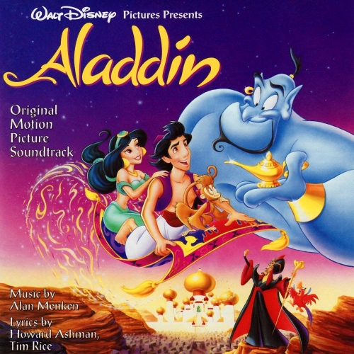 Alan Menken, A Whole New World (from Aladdin), Easy Piano