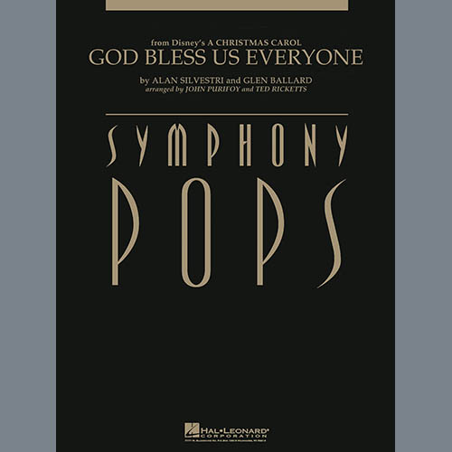 God Bless Us Everyone - Percussion Score sheet music