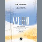 Download Alan Silvestri 'The Avengers (arr. Johnnie Vinson) - Pt.3 - Bb Tenor Saxophone' printable sheet music notes, Film/TV chords, tabs PDF and learn this Flex-Band song in minutes