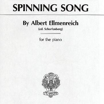 Albert Ellmenreich, Spinning Song, Educational Piano