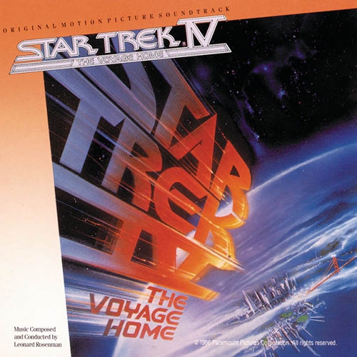 Alexander Courage, Star Trek(R) IV - The Voyage Home, Piano