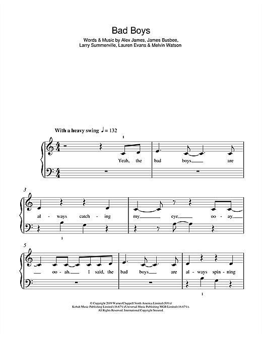 Bad Boys sheet music