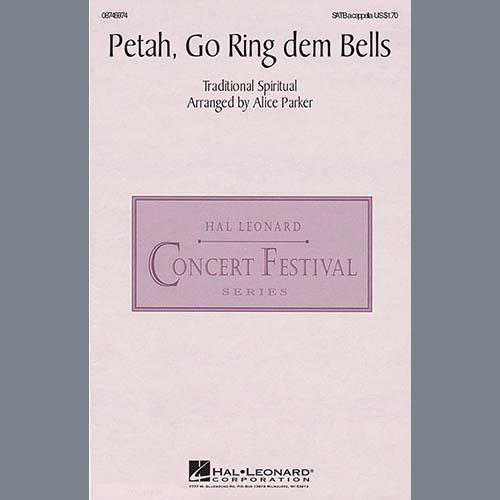 Traditional Spiritual, Petah, Go Ring Dem Bells (arr. Alice Parker), SATB