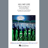 Download Tom Wallace 'All My Life - Cymbals' printable sheet music notes, Alternative chords, tabs PDF and learn this Marching Band song in minutes