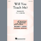 Download Allen Pote Will You Teach Me? sheet music and printable PDF music notes