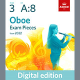 Download Althea Talbot-Howard Chanson Militaire (Grade 3 List A8 from the ABRSM Oboe syllabus from 2022) sheet music and printable PDF music notes