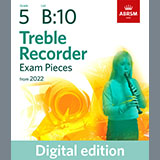 Download Althea Talbot-Howard Prelude: The Seafront (Grade 5 List B10 from the ABRSM Treble Recorder syllabus from 2022) sheet music and printable PDF music notes